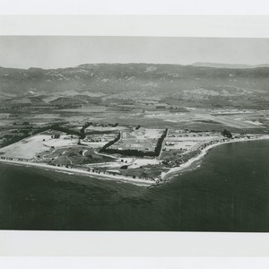 World War II Marine base and future site of UC Santa Barbara: ...