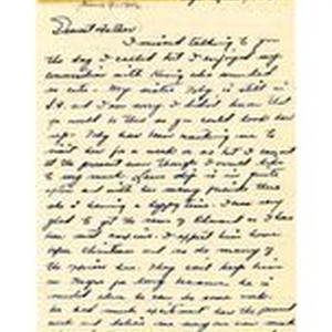 Letter from Jeanne Dockweiler to Isidore B. Dockweiler, June 8, 1942