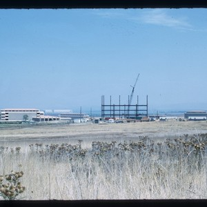 Physical Sciences building construction, from distance