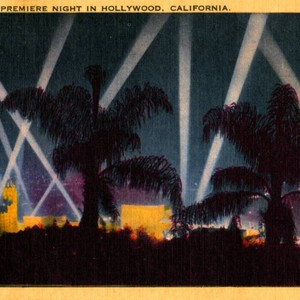 A World Premiere Night in Hollywood, California