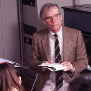 Music Professor Colin Slim, teaching a class.