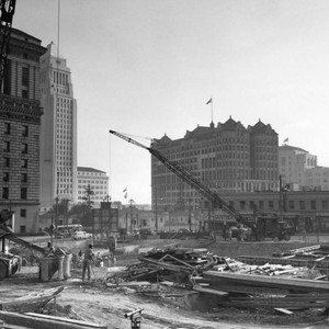Civic Center construction