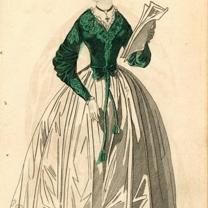 Carriage dress, 1836
