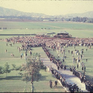 First graduation at San Fernando Valley State College, June 12, 1959