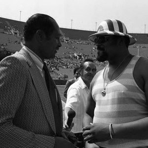 Tom Bradley and Rosey Grier, Los Angeles, 1973