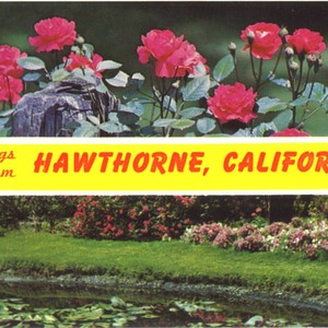 Greetings from Hawthorne, California