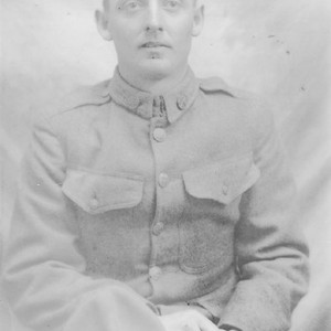 John Paul Guffy (World War I, Tulare County)