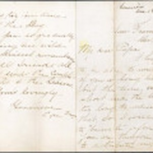 3187 Christmas letter from Genevieve to her family, 1892