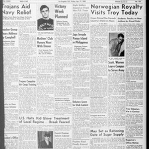 Daily Trojan, Vol. 33, No. 123, April 17, 1942