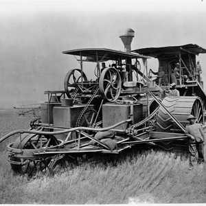 Combination steam harvester