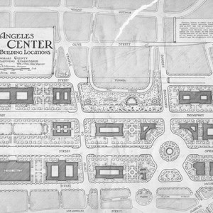 Los Angeles civic center plan