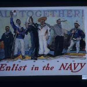 All together. Enlist in the Navy