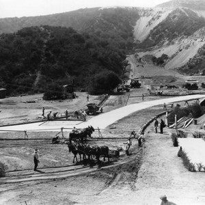 Hollywoodland construction