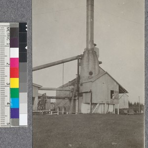 Unusual type of refuse burner used at Lousiana Cypress mill. D.T. Mason ...