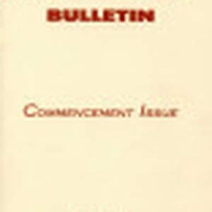 Bulletin Commencement Issue, 1957