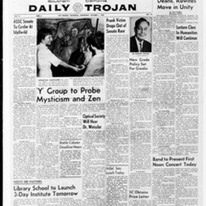 Daily Trojan, Vol. 51, No. 13, October 07, 1959