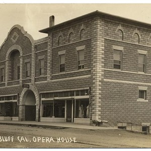 Red Bluff Cal, Opera House