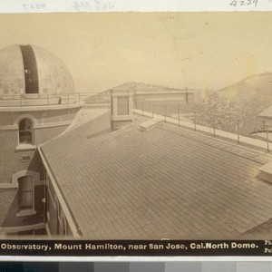 Lick Observatory, Mount Hamilton, near San Jose, Cal. North Dome. B2431 [or ...