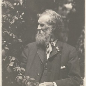 John Muir at Sellers home, Pasadena, California