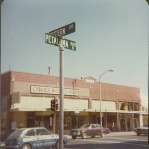 Corner of Petaluma Boulevard North and Western Avenue, Petaluma, California, September 8, ...