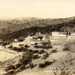 View of the summit in Topanga Canyon, circa 1928