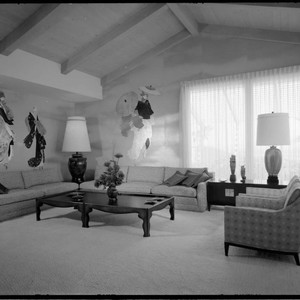 Rogerson, Mr. and Mrs. Thomas J., residence. Living room