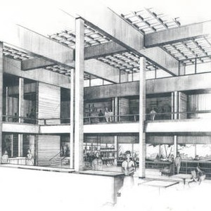 Architectural rendering of the Argyros Forum