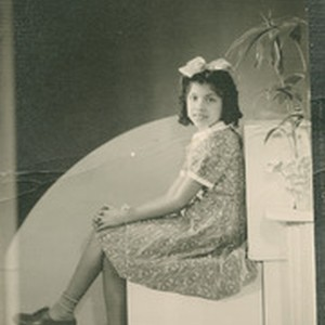 Ofelia Esparza portrait for her 10th birthday, East Los Angeles, California