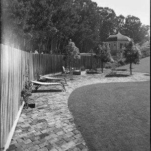 Cartan, Mr. and Mrs. Henry D., residence. Landscaping and Outdoor living space