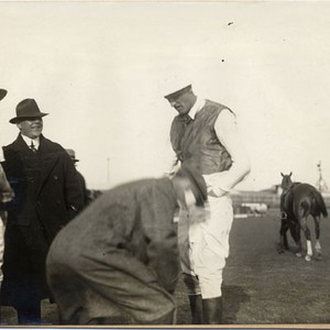 [Polo players at the Panama-Pacific International Exposition]