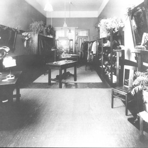 Hall, Peck, and Kamp Millinery Store interior