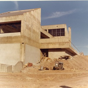 Tyler Campus Center under construction, 1972
