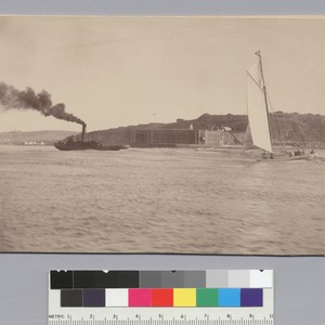 Fort Point from seaward. [photographic print]