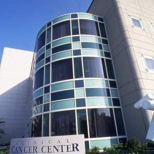 UCI buildings:Clinical Cancer center.