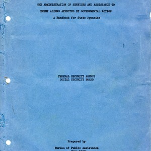 """Policies and Procedures Governing the Administration of Services and Assistance to Enemy ..."