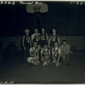 Kaiser Co. Inc. Women's Basketball team. January 25, 1946