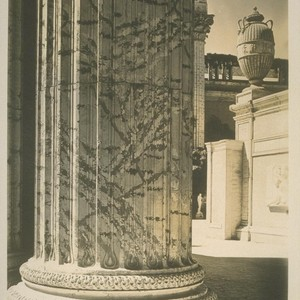 H232. [Colonnade, Palace of Fine Arts (Bernard R. Maybeck, architect).]