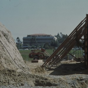 Images of early and later UCI construction, Humanities, Fine Art, and Social ...