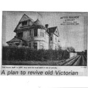 A Plan to revive old Victorian