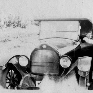 Riddell family's car on a Skaggs Road trip--probably to Stewart Point on ...