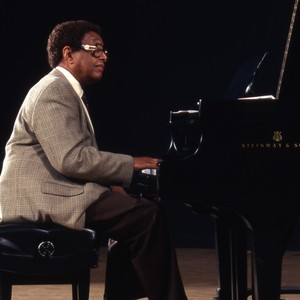 Dr. Billy Taylor Playing the Piano