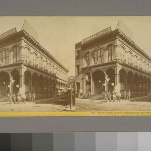 Edward Bosqui and Co.'s Printing House, San Francisco