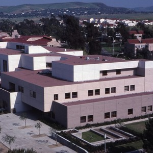 Aerial View of Social Ecology Building