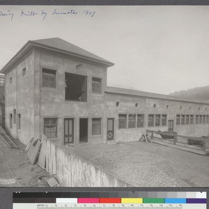 Dairy built by Inmates 1909