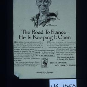The road to France - he is keeping it open ... The ...