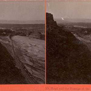 Mt. Hood and the Passage of the Dalles, Col. River, Or., E ...