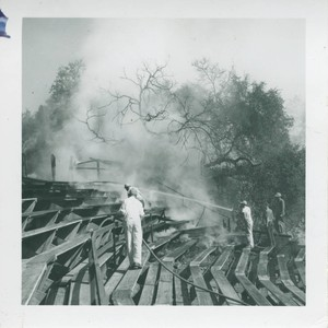 Fire at the Greek Theater, Pomona College