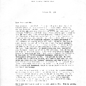 Marilyn Kozak letter to J. Michael Bishop