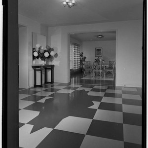 Lowe, W. H., residence. Interior