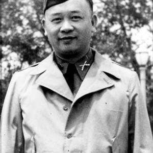 Peter Soo Hoo Sr. in an army uniform